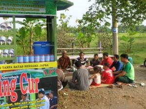 Tanggal 26 Mei 2013 Gerobak Zing Cur JAPRA dilaunching yang berlokasi di Bulak Asri Pelemgadung Sragen